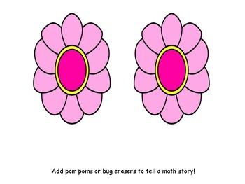 Math Story Mats for Photo Boxes FREEBIE