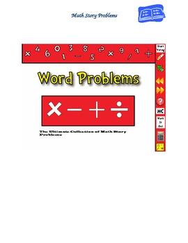 Math Story Problem Bundle--Hundreds of Problems!