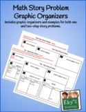 Math Story Problem Solving Graphic Organizers