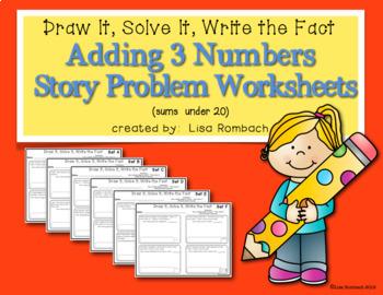 Math Story Problem Worksheets THE BUNDLE