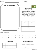 Math Story Problems Addition and Subtraction with multiple strategies
