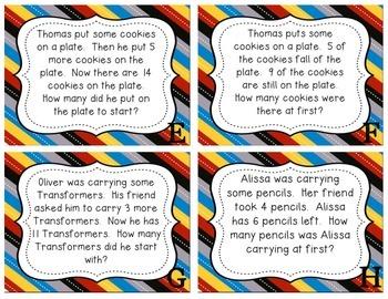 Math Story Problems - Grade 3