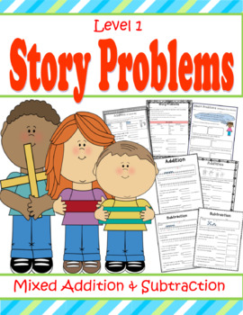 Math Story Problems for First Grade