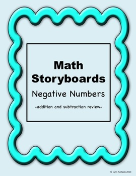 Math Storyboards: Negative Numbers