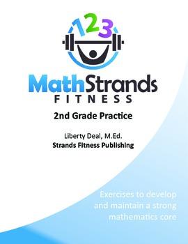 Math Strands Fitness (PDF) 2nd Grade Practice