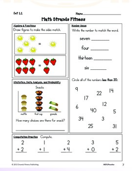 1st Grade Math (Download)