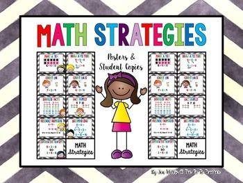 Math Strategies by The Go To Teacher | Teachers Pay Teachers