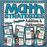 Math Strategies {Addition and Subtraction} Mini-Anchor Cha