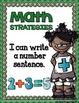 Math Strategies {Addition and Subtraction} Mini-Anchor Charts GREEN