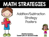 Math Strategies: Addition and Subtraction Strategy Posters