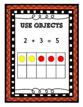Math Strategies Anchor Charts