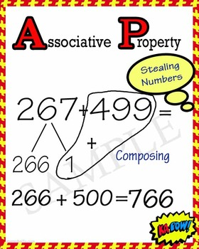 Math Strategies Associative Properties