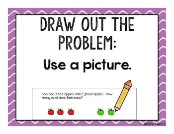 Math Strategies Clip Chart