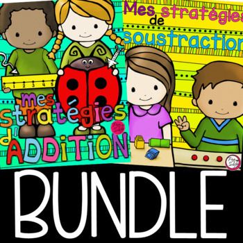 Math Strategies Flip Book BUNDLE - French