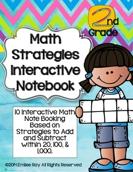 Math Strategies Interactive Notebook-2nd Grade {CCSS Aligned}
