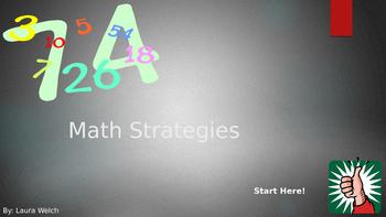 Math Strategies Interactive PowerPoint