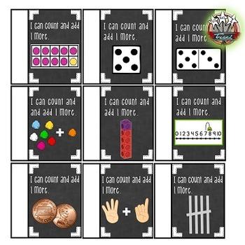 Math Strategies:  Plus 1 Games