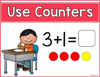 Math Strategies Posters (Addition Strategies and Subtraction Strategies)