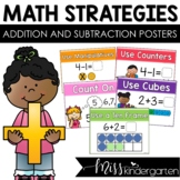 Math Strategies Posters | Addition and Subtraction | Kinde