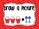 Math Strategies Posters- Red Chevron
