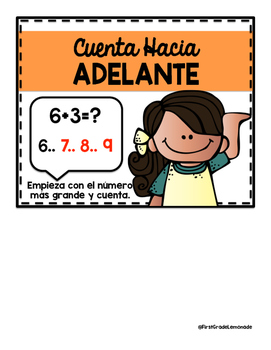 Math Strategies Posters SPANISH Version