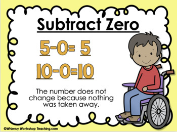 free math strategies addition subtraction posters whimsy workshop rh teacherspayteachers com Subtraction Word Clip Art subtraction symbol clipart
