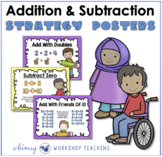 FREE Math Strategies Addition Subtraction Posters