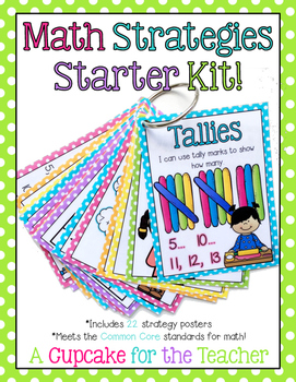 Math Strategies Starter Kit! {Posters}