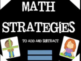 Math Strategies for Adding and Subtracting