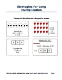 Math - Strategies for Long Multiplication, Multiplying Mul