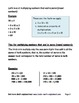 Math - Strategies for Long Multiplication, Multiplying Mul
