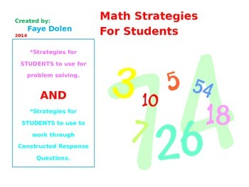 Math Strategies for Students