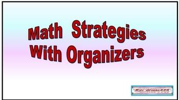 Math Strategies with Organizers
