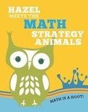 Math Strategy Animal Book and Puppets (Distance Learning)