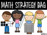 Math Strategy Bag {Management Tool}