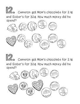 Math Strategy Mini Journals February