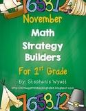 Math Strategy Mini Journals November
