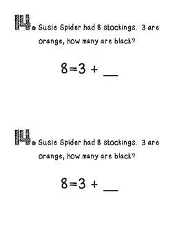 Math Strategy Mini Journals October