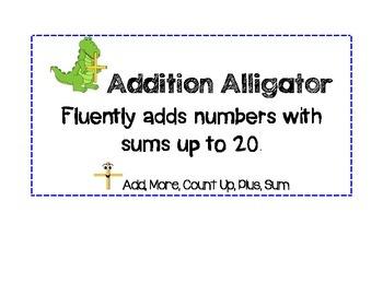 Math Strategy Cards Animal Theme