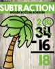 Math Strategy Classroom Posters / Signs Beach Themed Weath