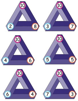 Math Strategy Game - NIM - Addition & Subtraction (16 Different Game Boards)