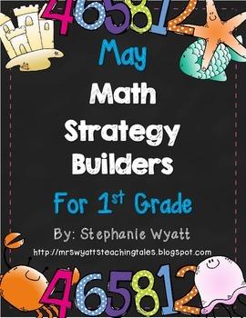 Math Strategy Mini Journals May