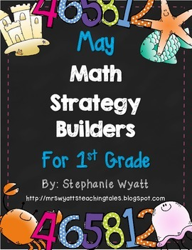 Math Strategy Mini Journals May