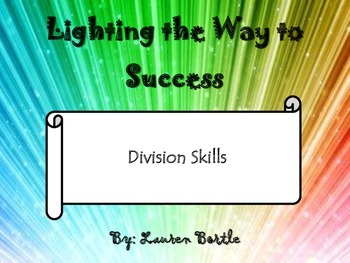 Math Strategy Notebook - Division Skills