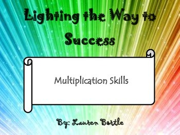 Math Strategy Notebook - Multiplication Skills