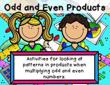 Math Strategy: Odd and Even Products