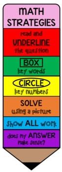 Math Strategy Pencil