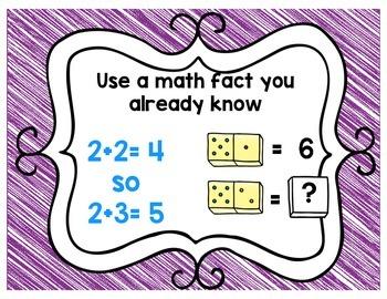Math Strategy Poster Set