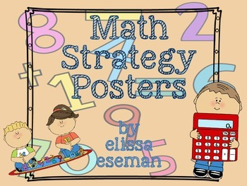 *~*Math Strategy Posters*~*