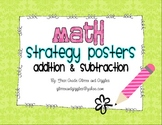 Math Strategy Posters - Addition & Subtraction